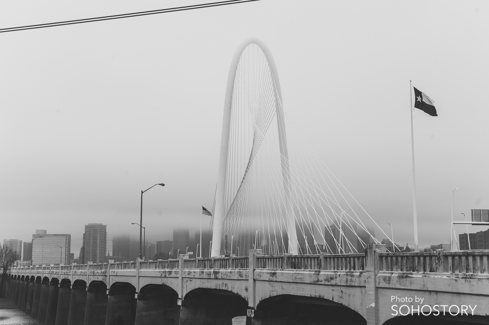 Fog and Rain, but does make the bridge look better