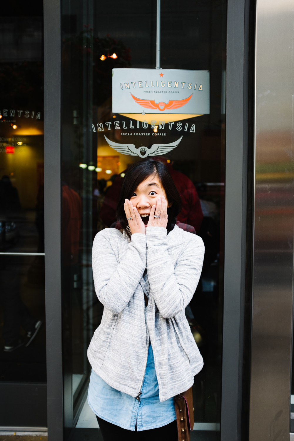 Sojung was most excited to try Intelligentsia for the first time.
