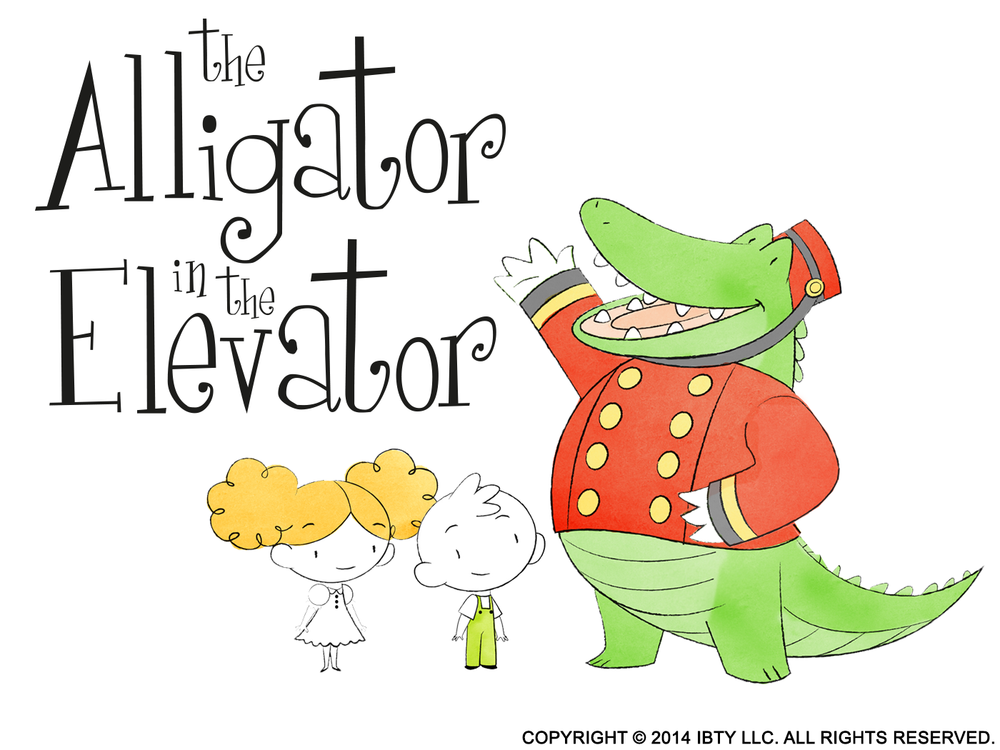 'Alligator in the Elevator: Learn to Count' iOS and Android app