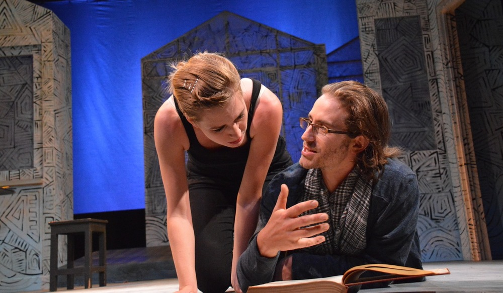 Oksana (Sarah Moser) and Paul (Harold Pierce). Photo: Jay Yamada