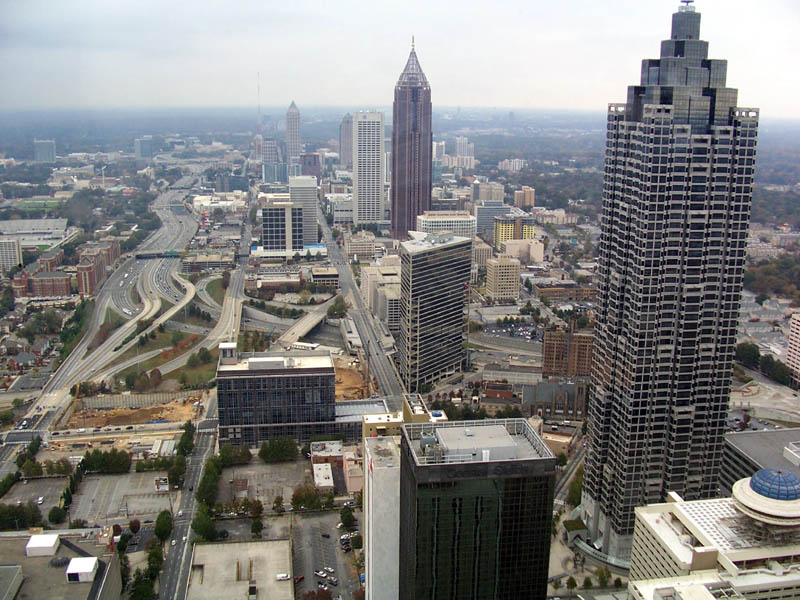 Atlanta Skyline _ James Willamore Photographer