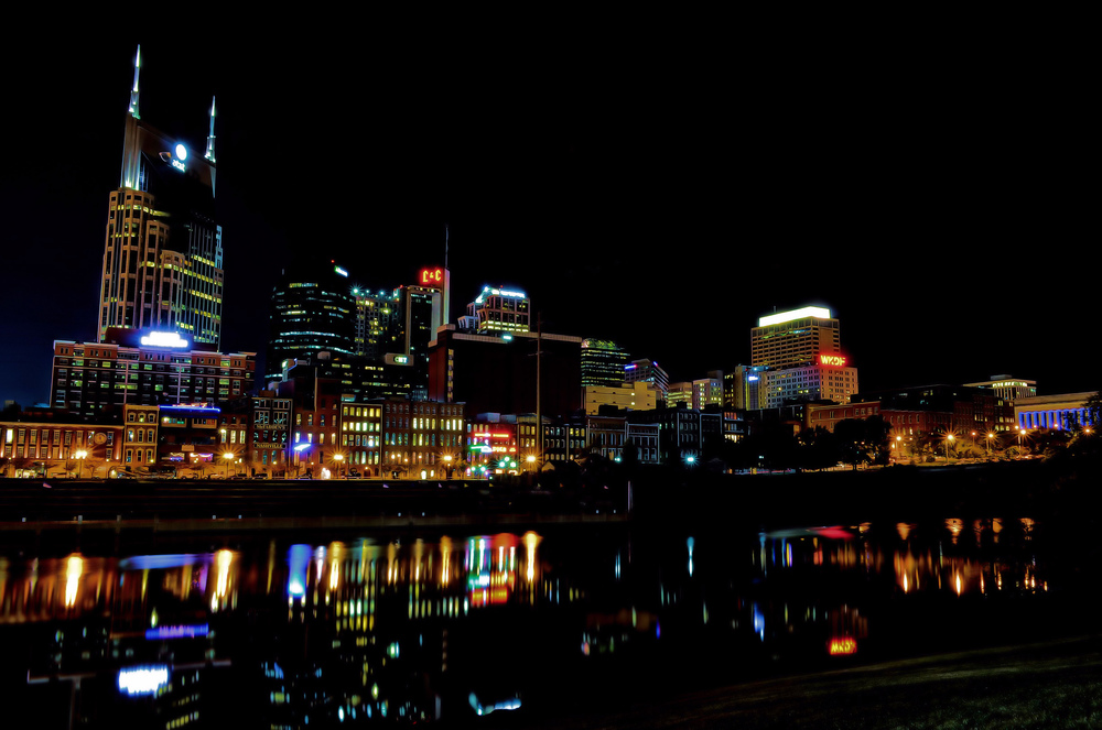 Nashville Skyline — Photo by Elliott Billings