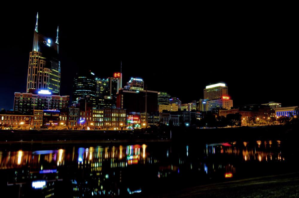 Nashville Skyline — Photo by Elliott Billings
