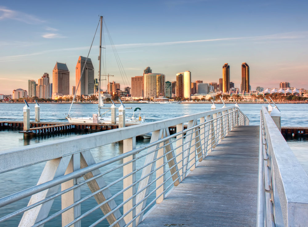 San Diego Coronado Pier by Chad McDonald — Creative Commons