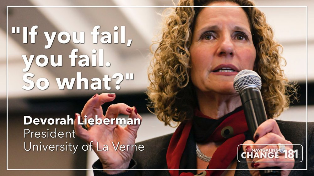 Listen to Devorah Lieberman on the Navigating Change Podcast