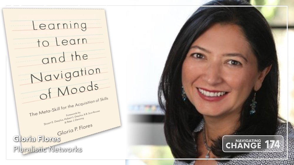 Listen to Gloria Flores on Navigating Change: The Education Podcast