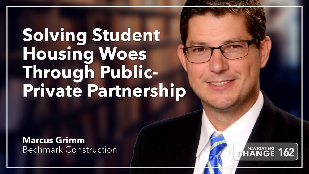 Listen to Marcus Grimm on Navigating Change The Education Podcast