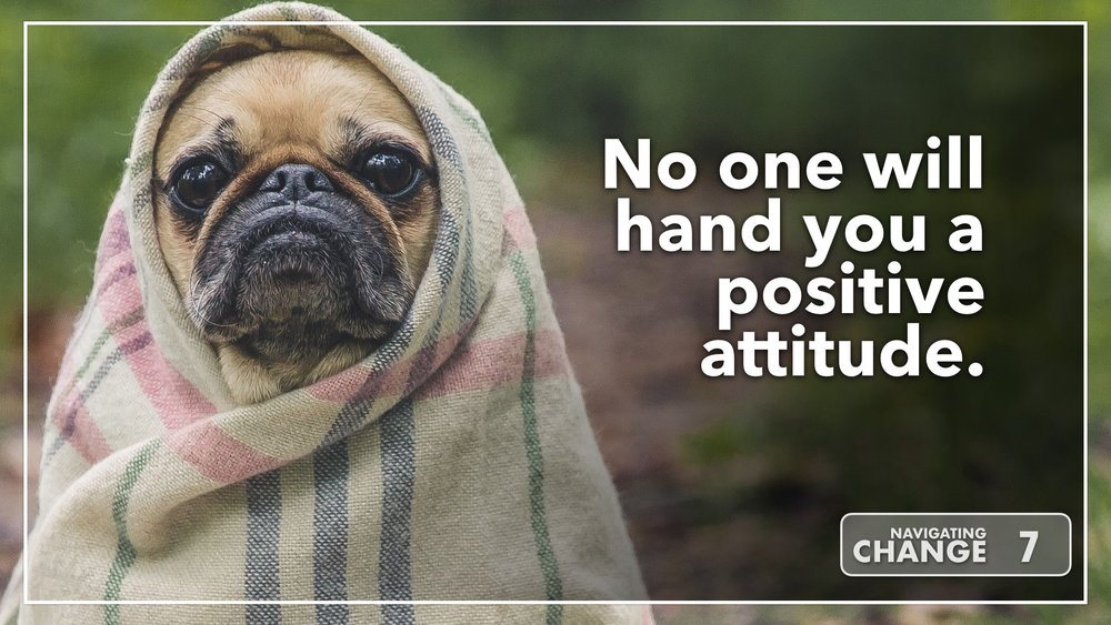 Listen to No One will Hand You a Positive Attitude on Navigating Change The Education Podcast