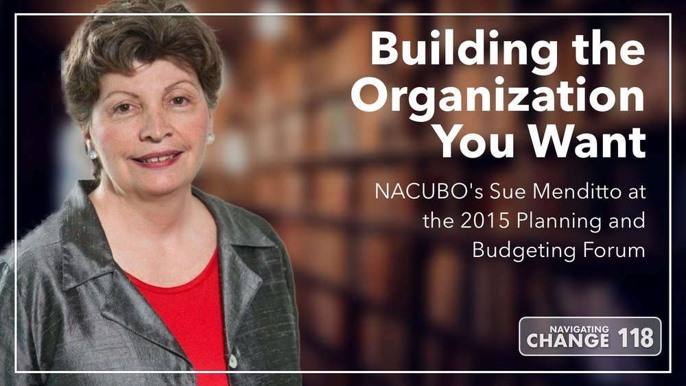 Listen to Sue Menditto on Navigating Change The Education Podcast