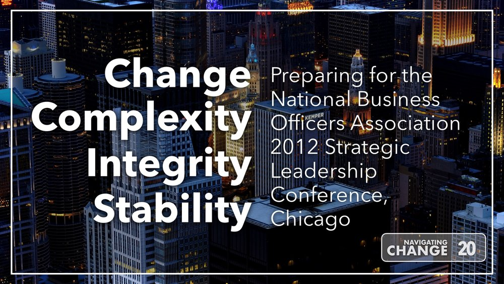 Listen to NBOA Strategic Leadership Conference 2012 on Navigating Change The Education Podcast