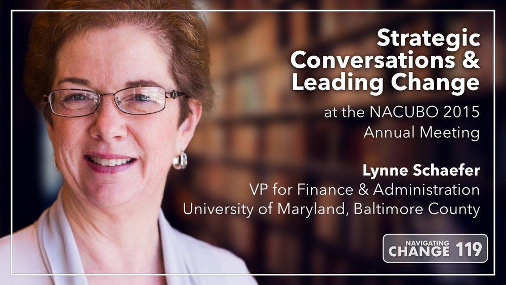 Listen to Lynne Schaefer on Navigating Change The Education Podcast