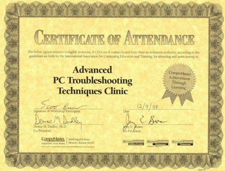 Advanced PC Troubleshooting Techniques Clinic