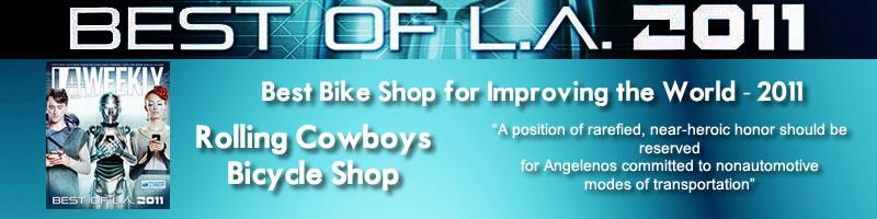 LA Weekly, Best Bike Shop, Rolling Cowboys