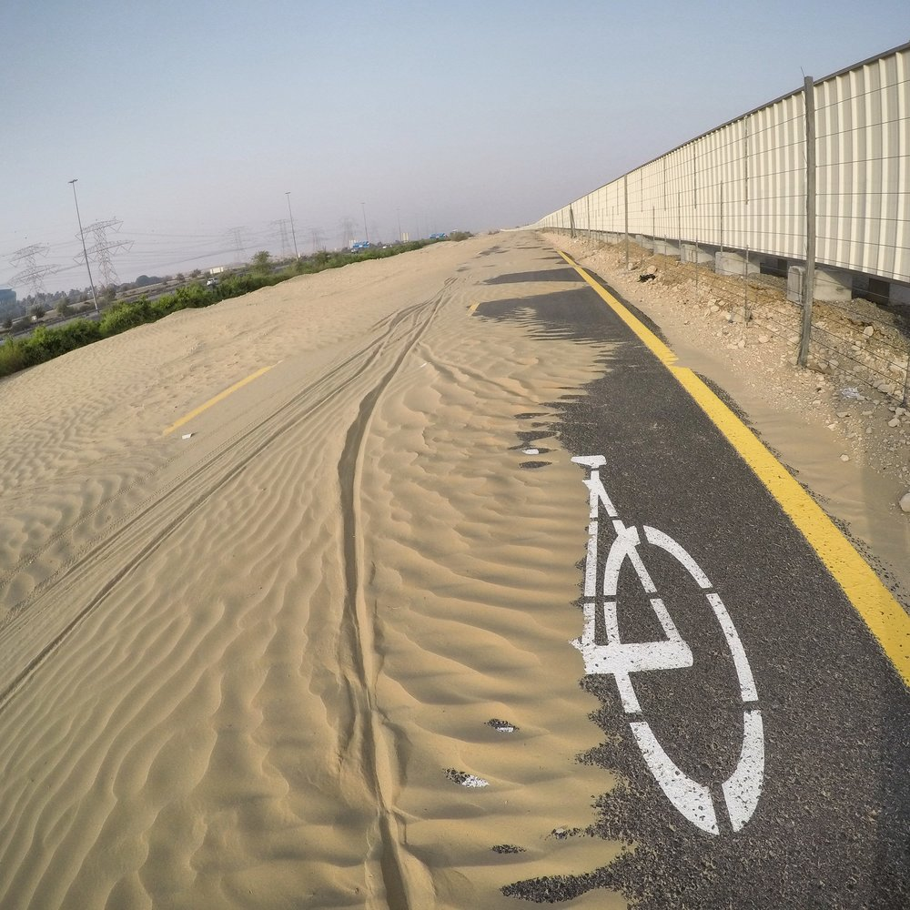 Al Qudra Bike Path, Dubai, UAE