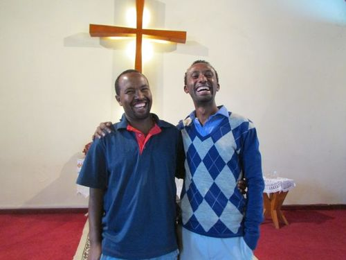 Tilahun (evangelist) and Abeje (Church Administrator)