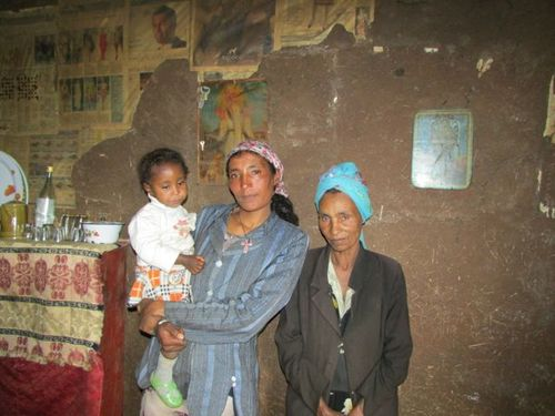 Genet, her daughter, and her mother