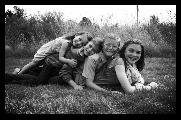 Nora, Levi, Isaac, & Aliya