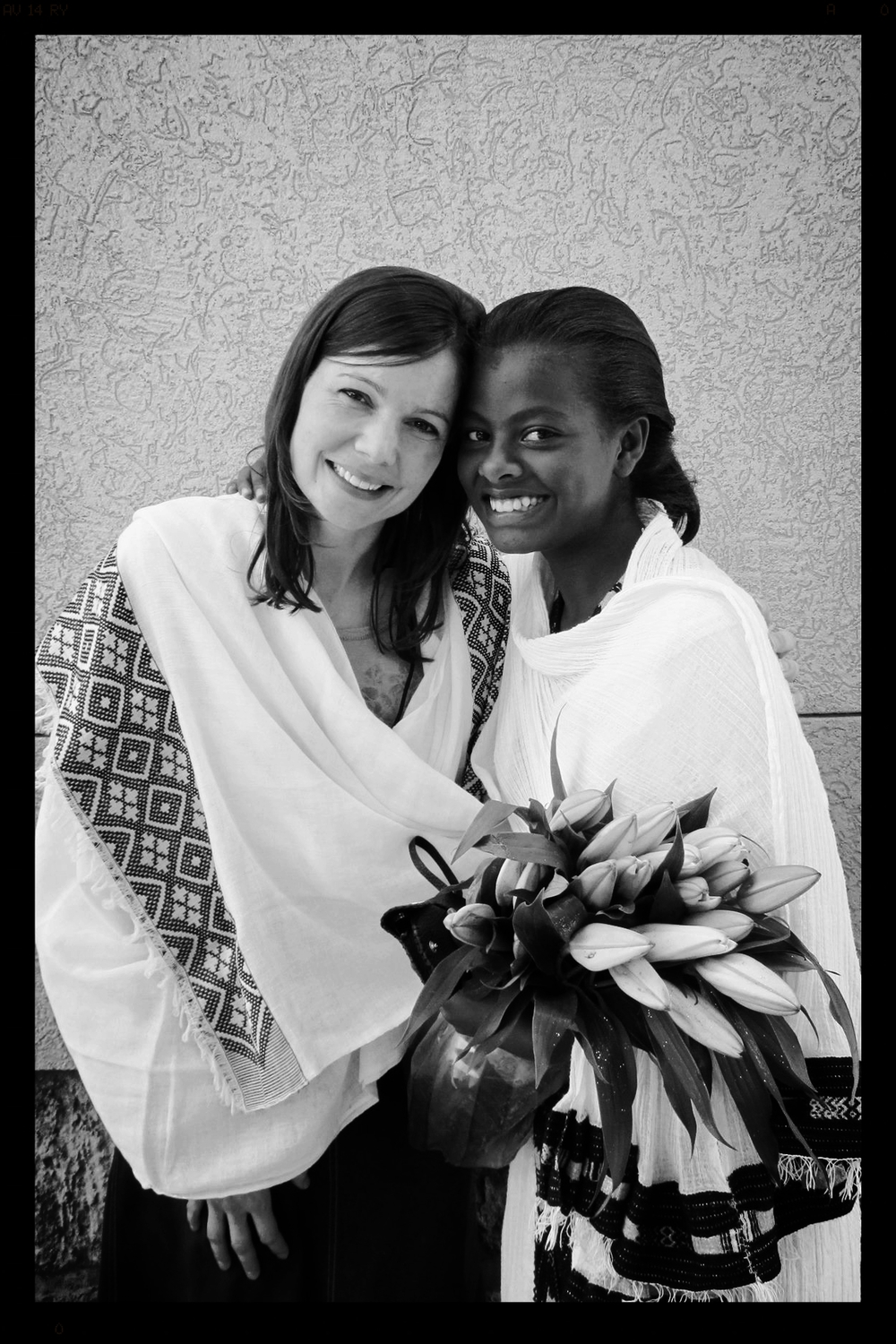Trista & Mekdes (Compassion Child) 2013