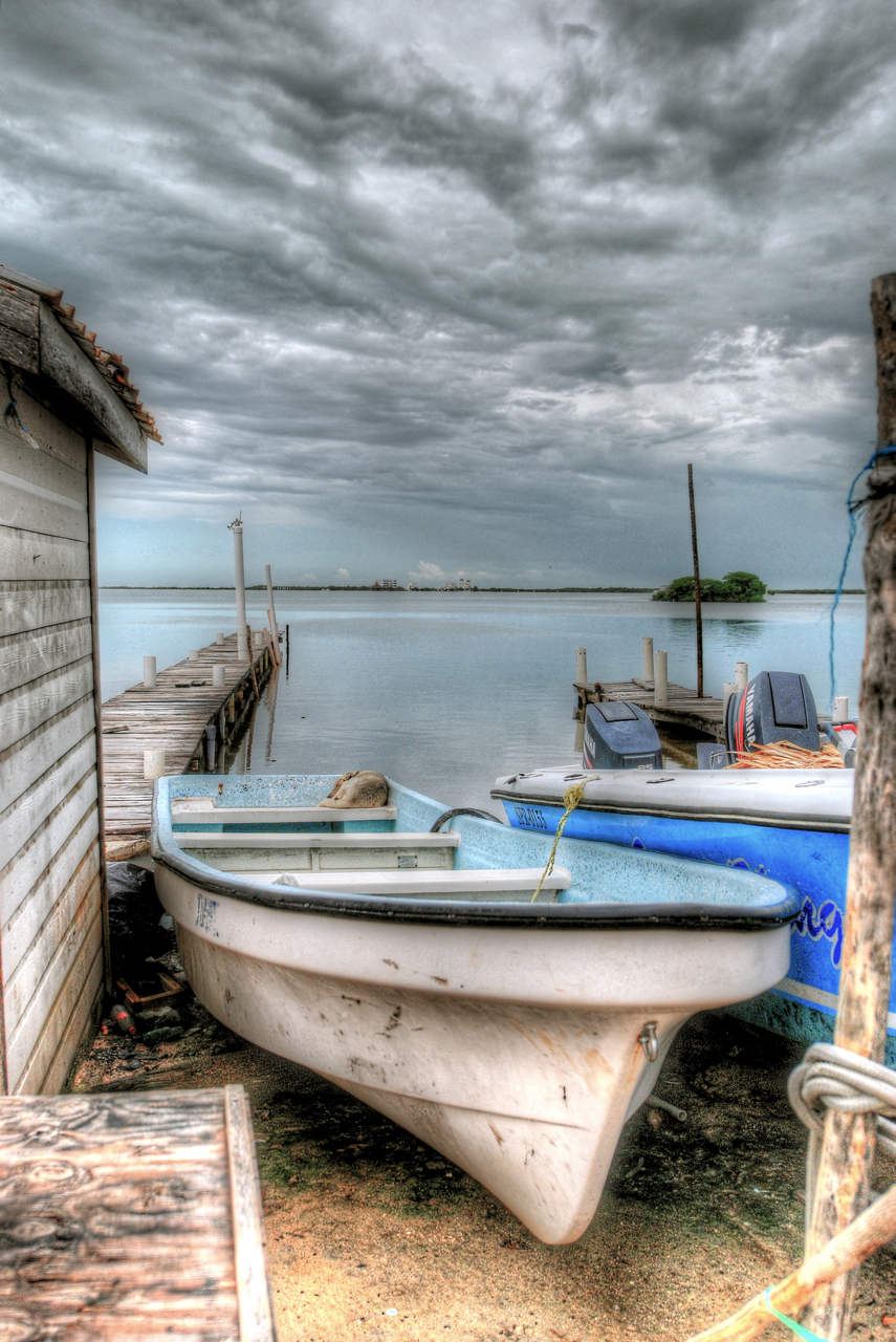 Boat in Belize HDR.jpg
