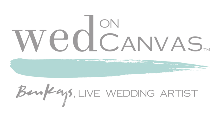Wed on Canvas : Live Event and Wedding Painting