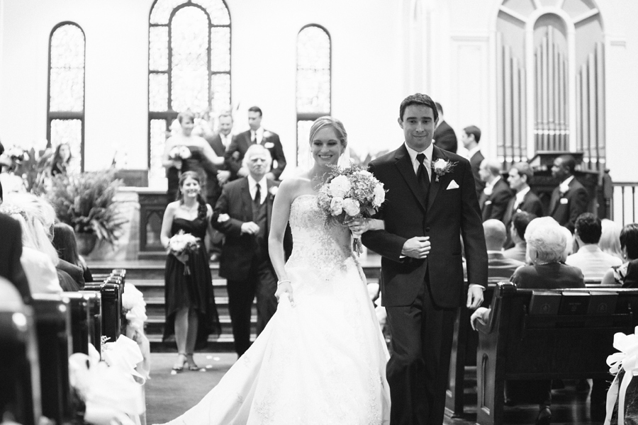 First Presbyterian Church, Hartsville Southern Wedding