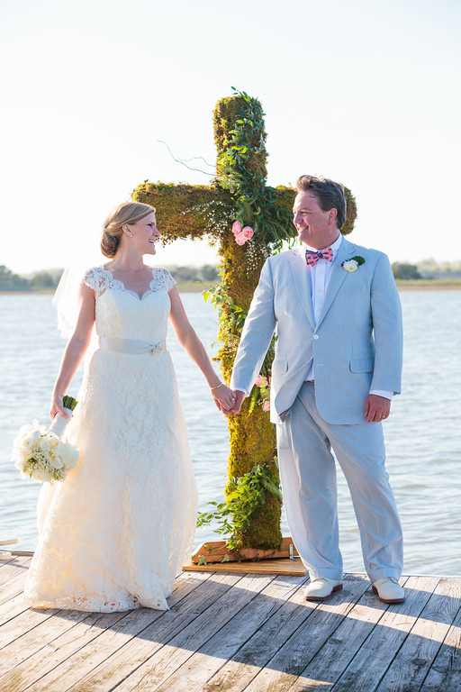 Charleston Wedding Painting // Wed on Canvas // Ben Keys // Photo Courtesy of Hunter McRae Photography