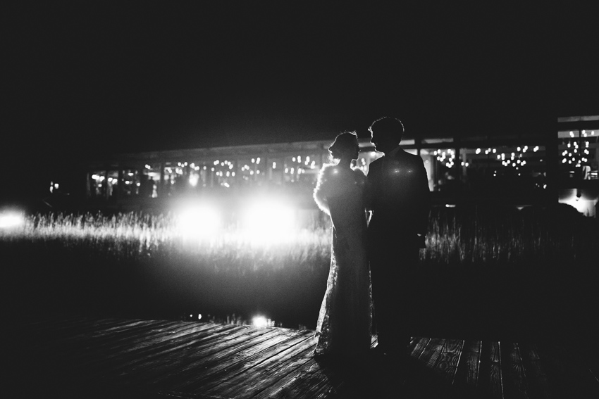 glamorous-monique-lhuillier-gown-with-fur-dockside-wedding-painter-ben-keys-of-wed-on-canvas-wedding-artist