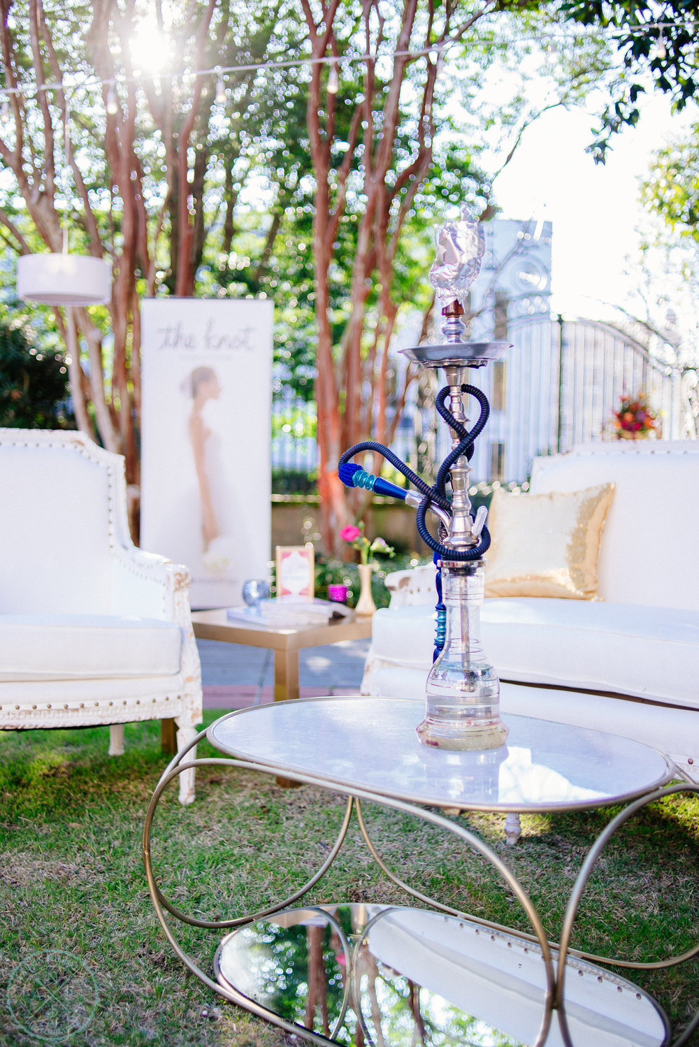 Hookah |  Tabbuli  | Entertain guests with a unique hookah lounge at your reception!