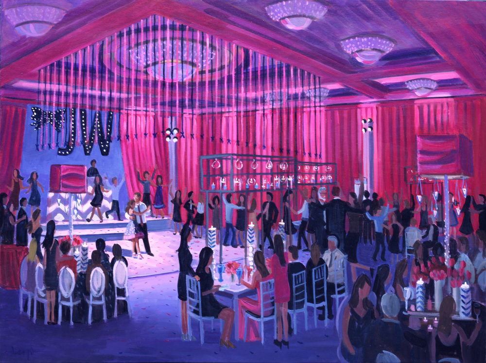 Julia's Bat Mitzvah | 30 x 40 in. | Parkland, Florida