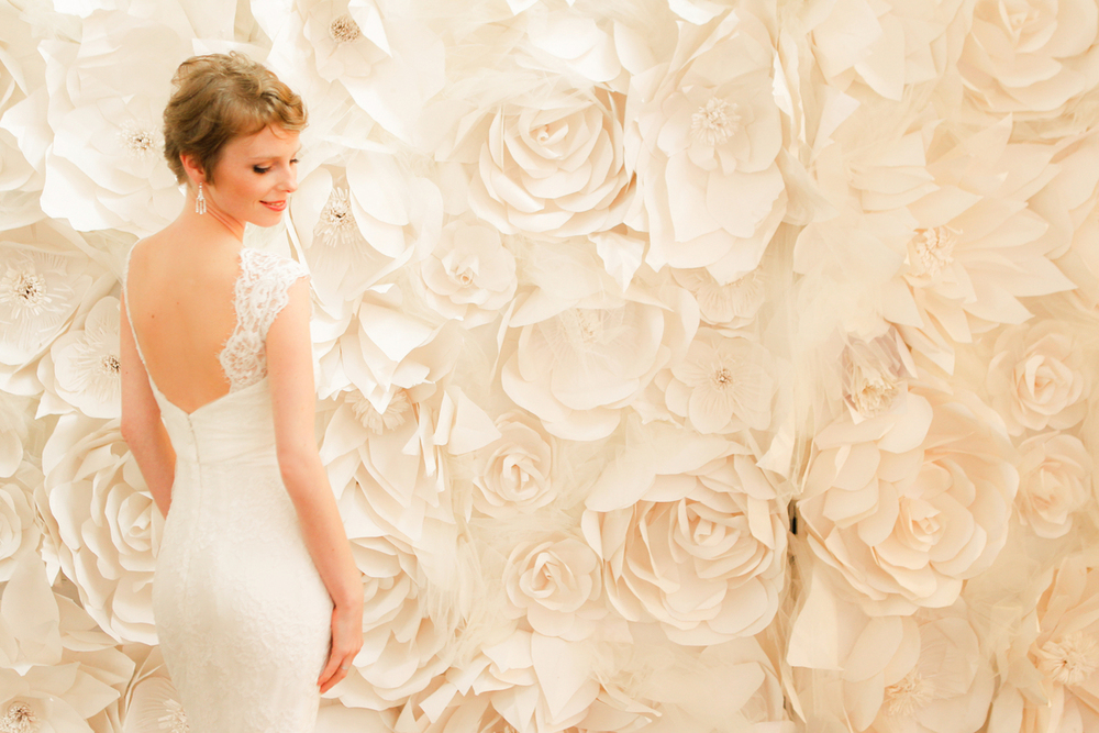 Photo by Donna Newman for Martha Stewart Weddings | Bridal Market 2012