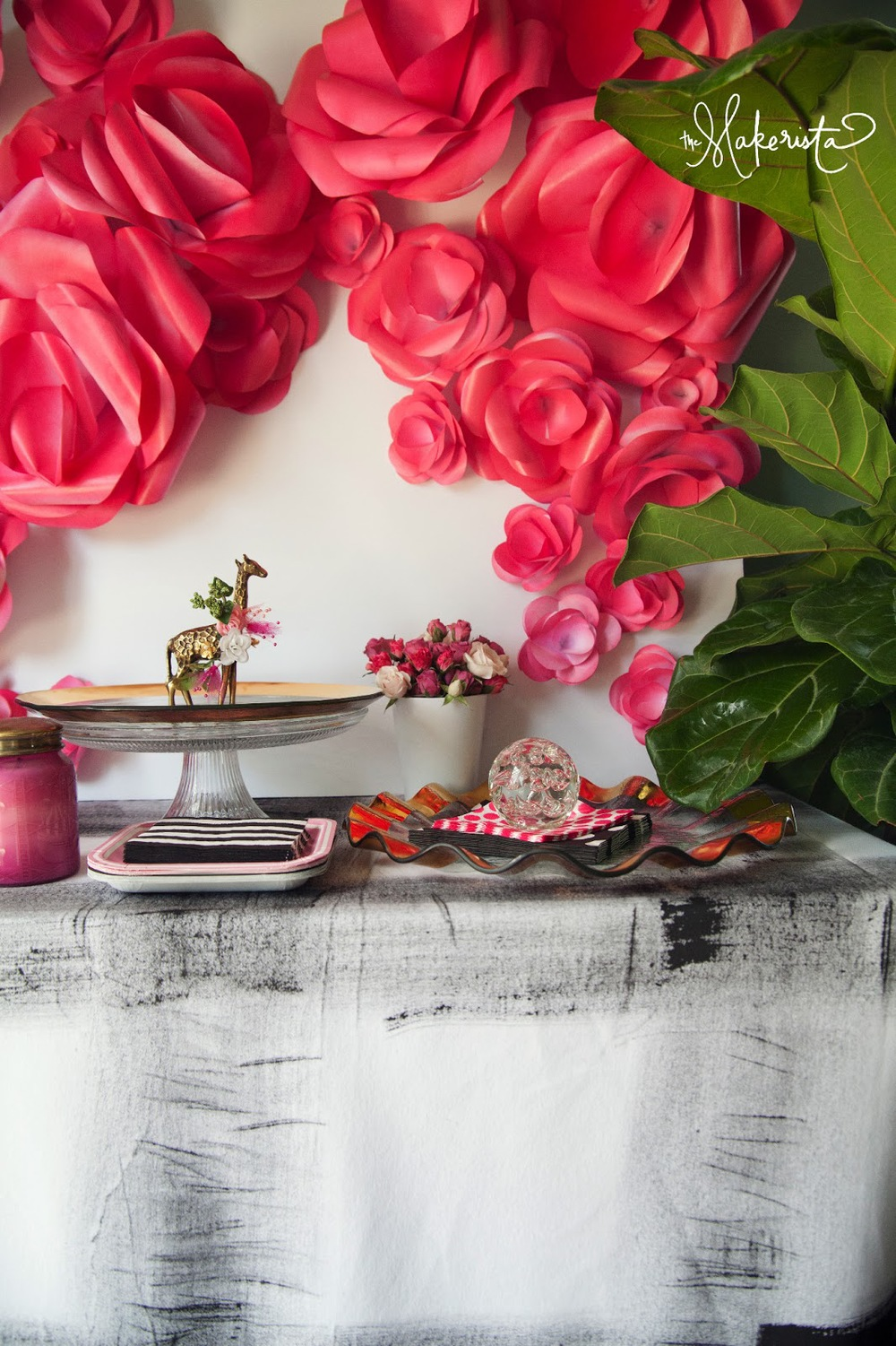 On Trend Paper Wall Flowers Wed On Canvas Live