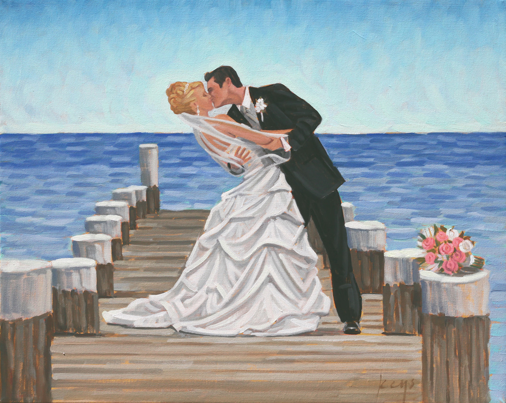 The Experience — Wed on Canvas : Live Event and Wedding Painting