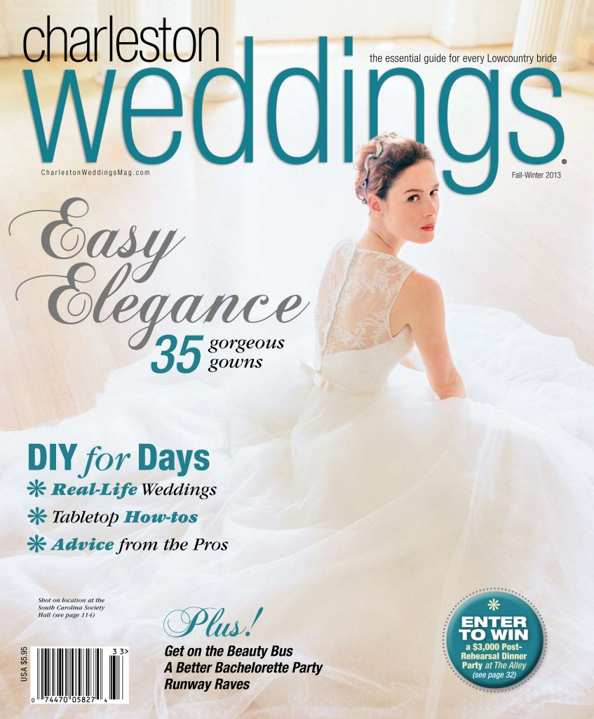 As seen in charleston weddings magazine fall winter 2013 wed on charleston weddings magazine wedding painter ben keys of junglespirit Images
