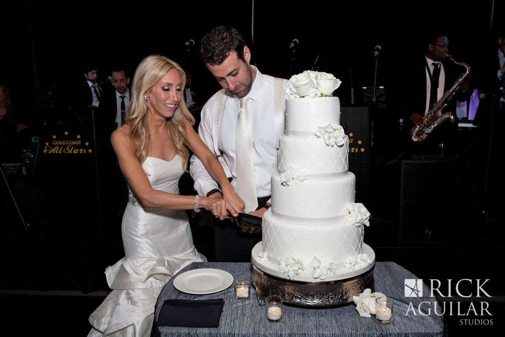chicago-wedding-sofitel-hotel-wedding-painter-ben-keys-cake-cutting