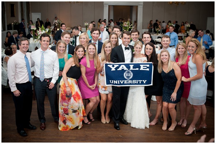 team-spirit-at-wedding-reception-yale-university-wedding-painting-by-ben-keys-of-wed-on-canvas