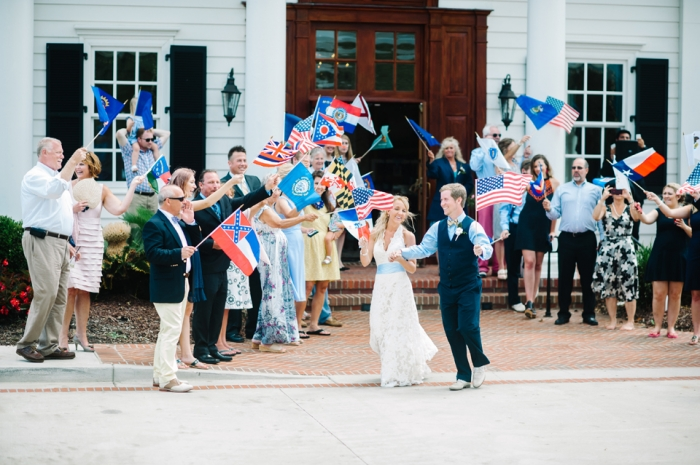 historic-confederate-southern-flag-send-off-getaway-wedding-the-exit-wed-on-canvas-wedding-artist-ben-keys
