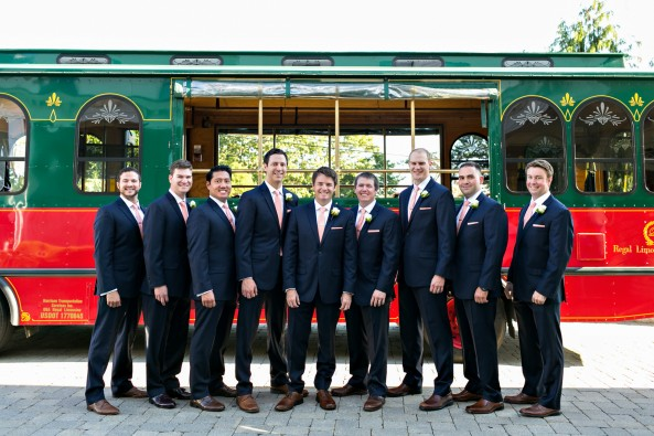 new-england-trolly-groomsmen-photo-wedding-painting-krista-photography-wed-on-canvas-wentworth-by-the-sea
