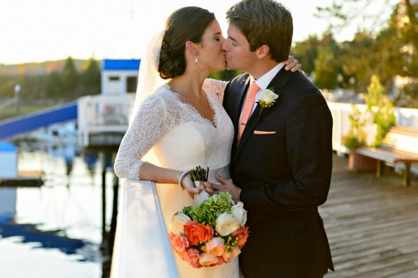 coral-bouquet-long-sleeve-key-hole-wedding-gown-wentworth-by-the-sea-bridal-portrait-wed-on-canvas-krista-photography