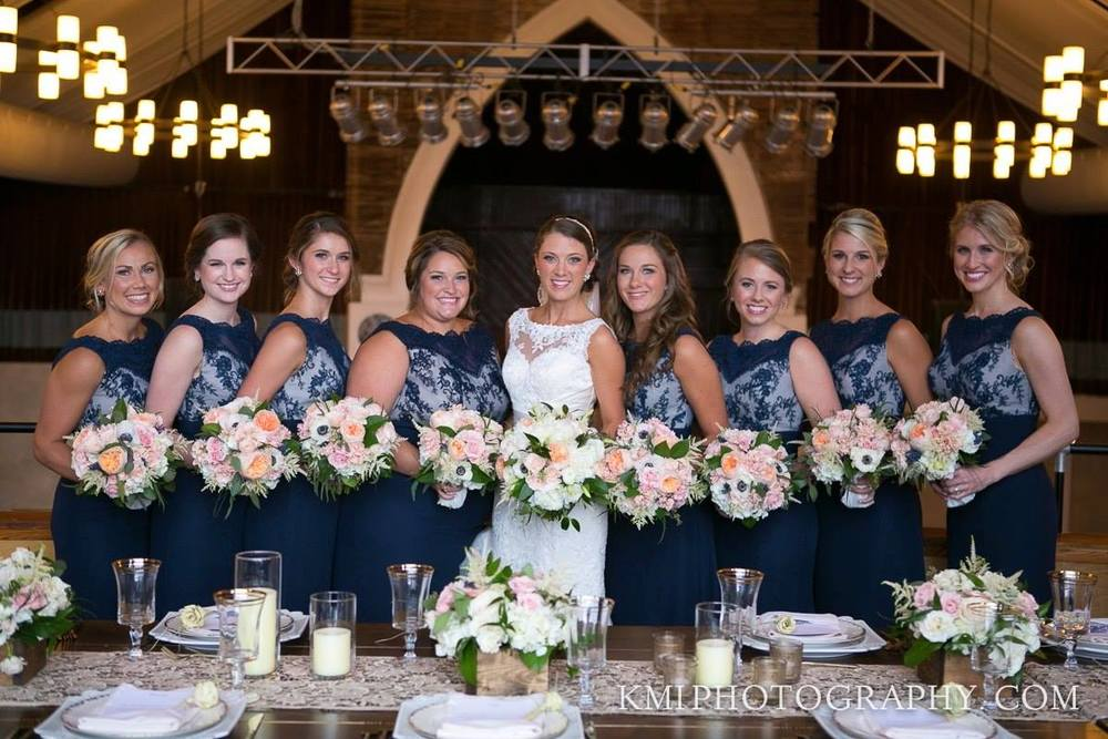 navy-and-lace-bridesmaid-dresses