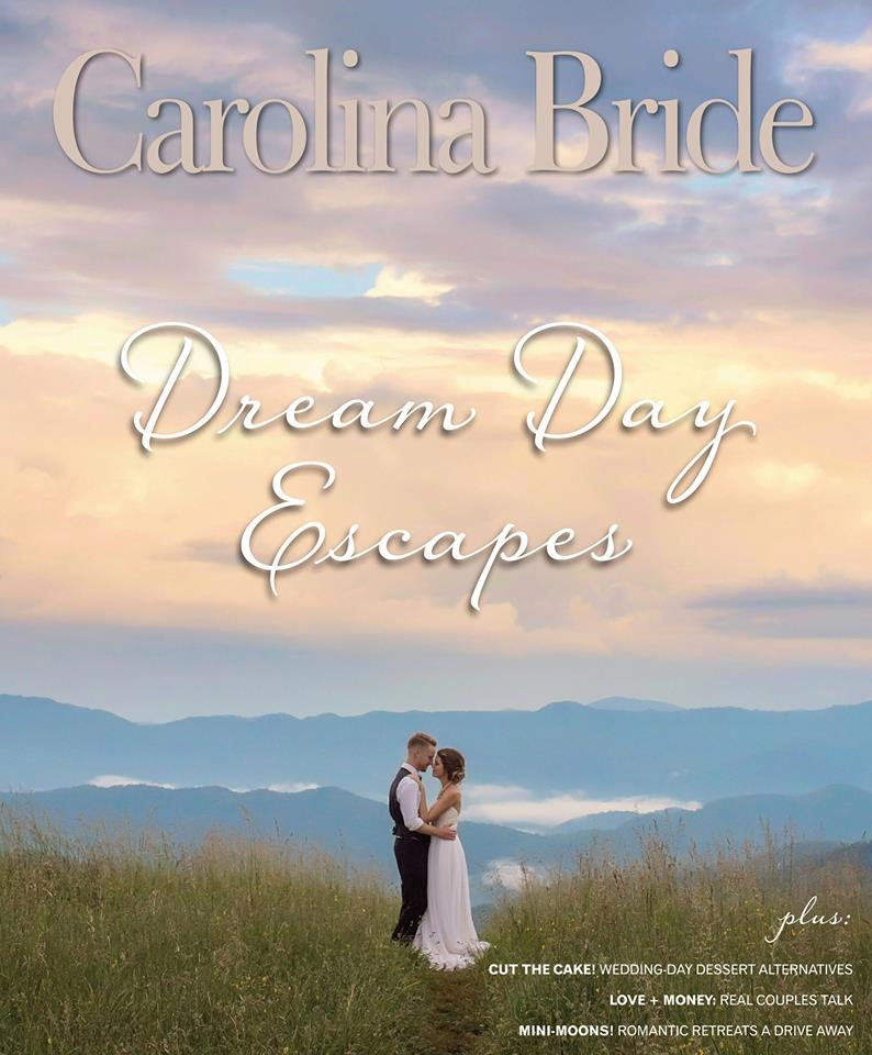 Live Wedding Painter, Ben Keys, Featured in Carolina Bride