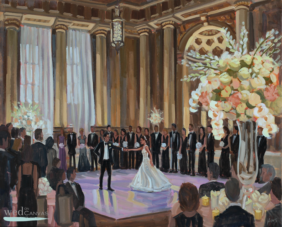 live-wedding-painter-washington-dc-mellon-auditorium