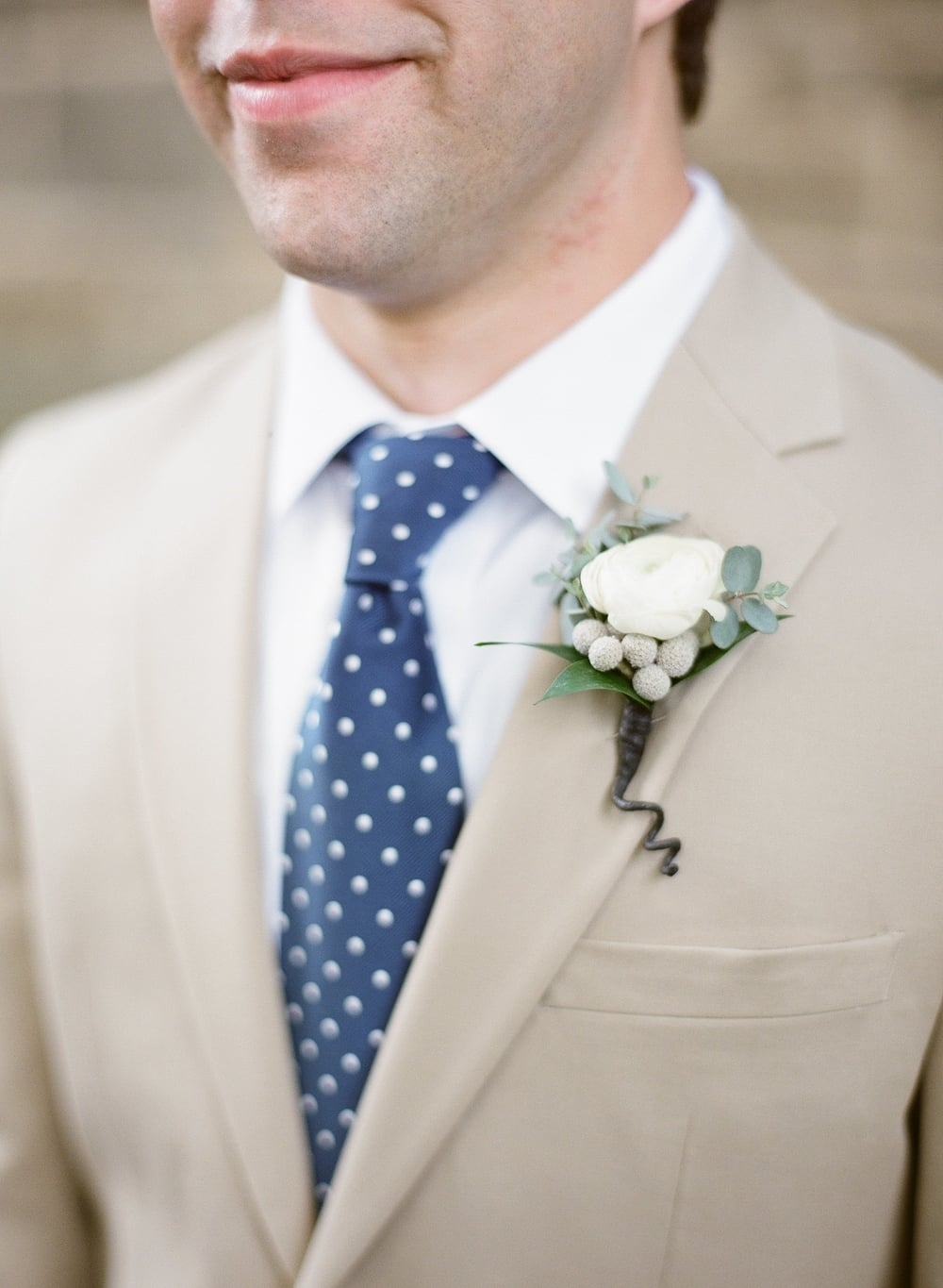 royal-blue-polka-dot-grooms-tie