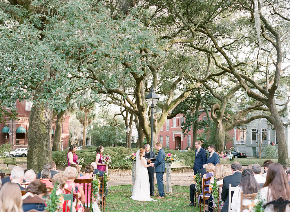 savannah-pulaski-square-wedding-southern-vintage-eclectic-ceremony