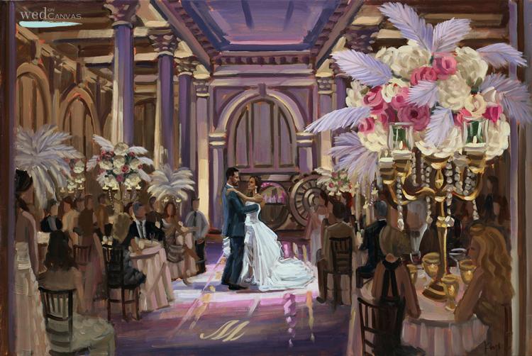 live-wedding-painter-florida-treasury-on-the-plaza-st-augustine