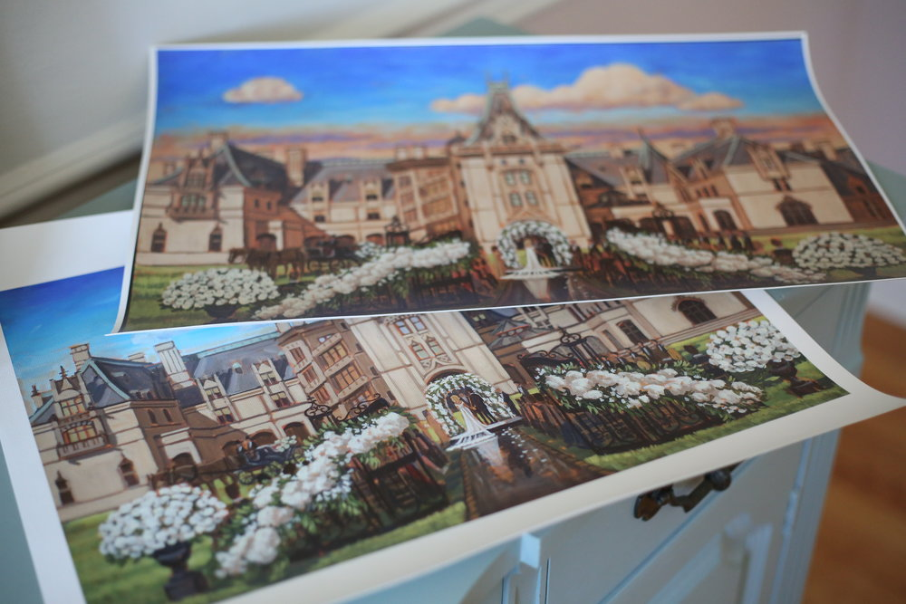 Here are the final proofs for the prints on canvas that were gifted to Emily + Rhyne's parents.
