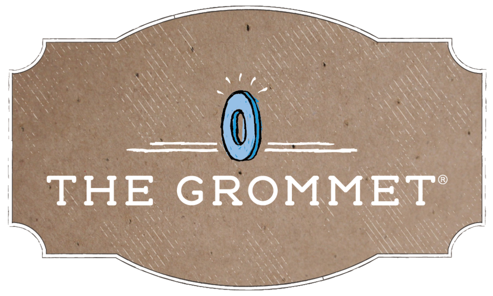 "The Grommet says: ""We launch undiscovered products and help them succeed; we call them Grommets. Grommets aren't just things. Grommets are products with a purpose invented by people with stories. Buy differently.""  www.thegrommet.com"