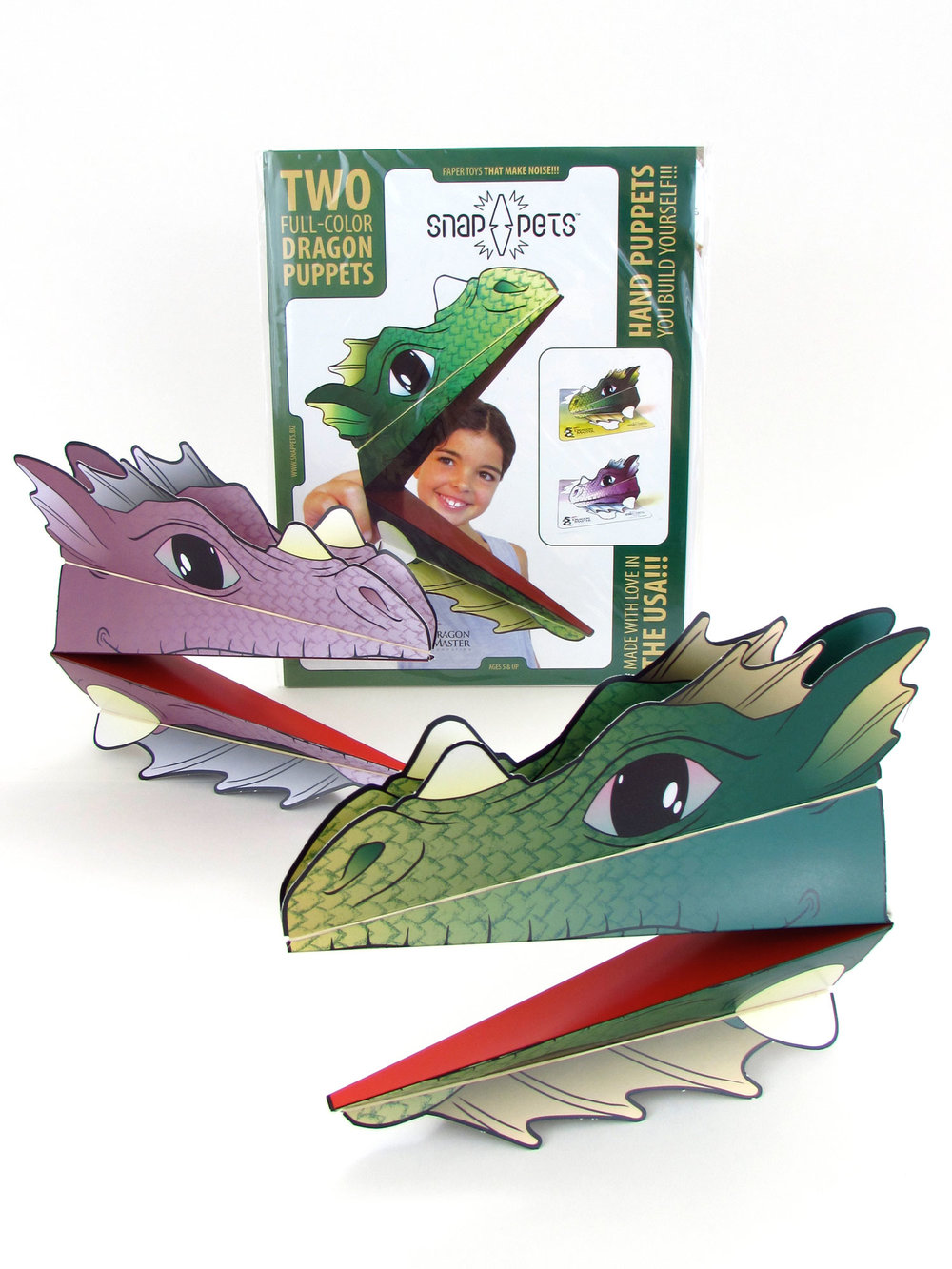 DRAGON PACK   Full-color Green Dragon and Purple Dragon    Open your wholesale account today!   Purchase via our store!