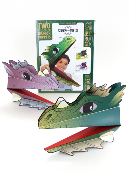 DRAGONS Full-color Green Dragon and Purple Dragon: $9.99