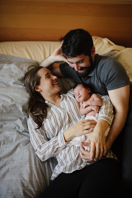 intimate newborn photography