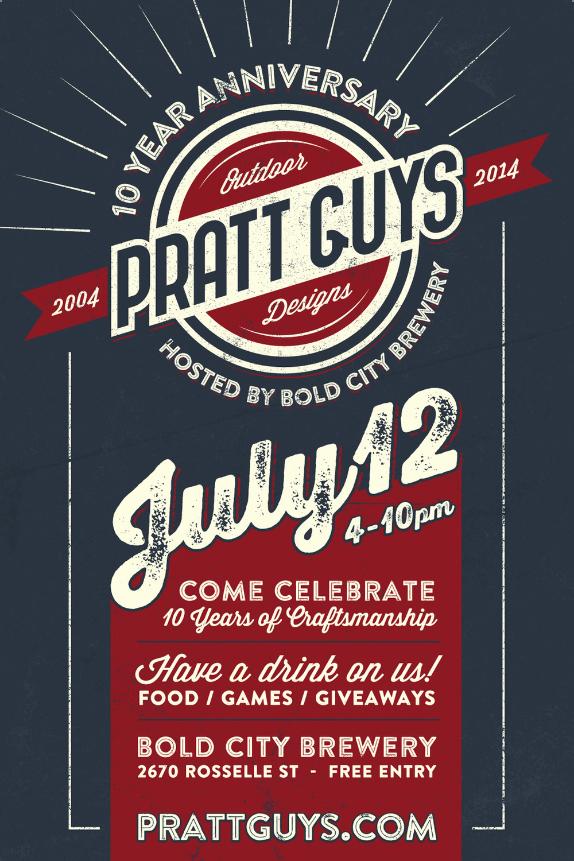 PrattGuys10-poster